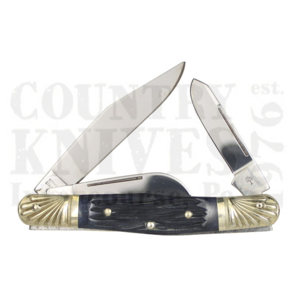 Buy Böker  B-7474-22DT Stockman, Jigged Grey Bone at Country Knives.