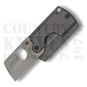 Buy Spyderco  C188ALP Dog Tag Folder – Gen4 - Aluminum at Country Knives.