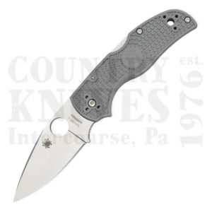 Buy Spyderco  C41PGY5 Native5 - GREY FRN / Maxamet at Country Knives.