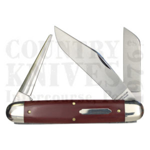 Buy Great Eastern Tidioute GE-981316RM Texas Cattle Knife, Red Micarta at Country Knives.