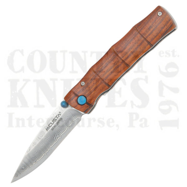 Buy MCUSTA  MC-74D Take Folder, Cocobolo Bamboo at Country Knives.