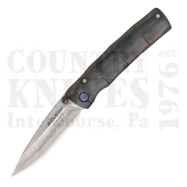 Buy MCUSTA  MC-76D Take Folder, Ebony Bamboo at Country Knives.