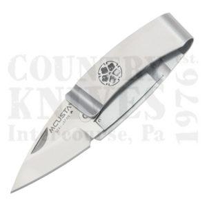 Buy MCUSTA  MC-82 Money Clip Folder - Kikyo (Chinese Bellflower) Crest at Country Knives.
