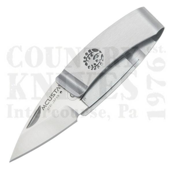 Buy MCUSTA  MC-84 Money Clip Folder, Fuji (Wisteria) Crest at Country Knives.
