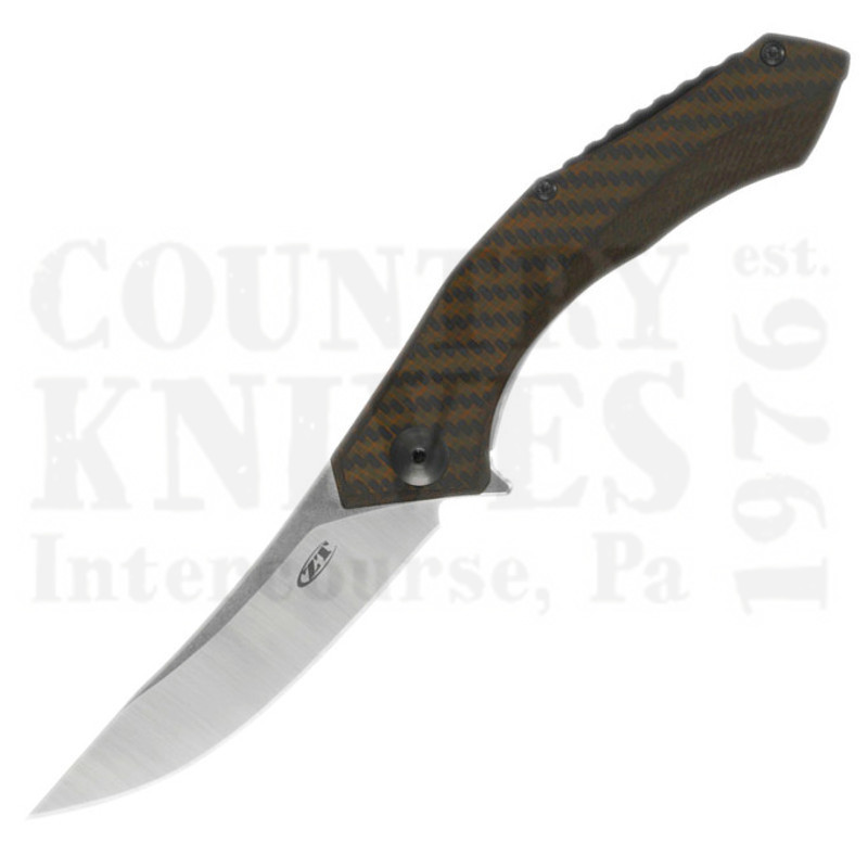 Buy Zero Tolerance  ZT0460 Sinkevich - Bronze Carbon Fiber at Country Knives.