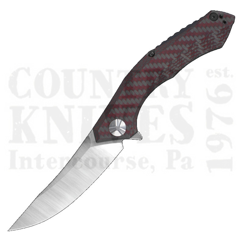 Buy Zero Tolerance  ZT0462 Sinkevich - Red Carbon Fiber at Country Knives.