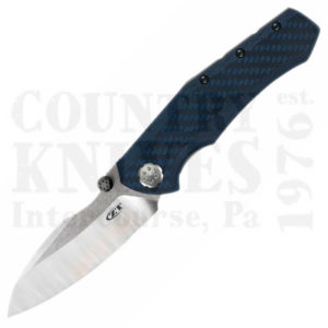 Buy Zero Tolerance  ZT0850 Rexford / Sinkevich, Blue Carbon Fiber at Country Knives.