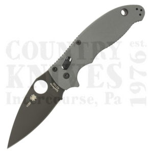 Buy Spyderco  C101GPBGY52100 Manix2, 52100 at Country Knives.
