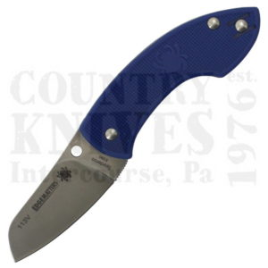Buy Spyderco  C163PBL Pingo - BLUE FRN / K390 at Country Knives.