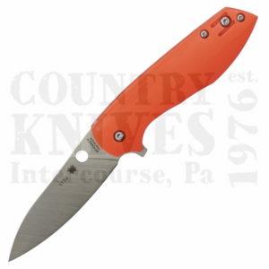 Buy Spyderco  C195GPOR Positron, S35VN / Orange G-10 at Country Knives.