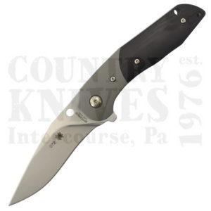Buy Spyderco  C227GP Hanan, Black G-10 / Titanium at Country Knives.