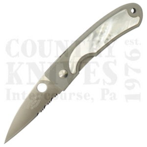 Buy Spyderco  C25PS Centofante, Mother of Pearl / CombinationEdge at Country Knives.
