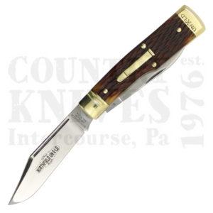 Buy Great Eastern Northfield GE-441218GJB Buffalo Jack (Gunstock) - Autumn Gold Jigged Bone  at Country Knives.