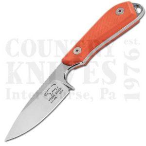 White River Knife & ToolWRBP-PRO-TORM1 Backpacker – Orange G-10 / Kydex