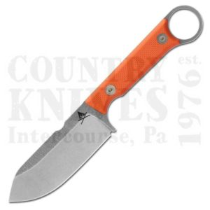 Buy White River Knife & Tool  WRFC3.5-TOR Firecraft FC3.5, S35VN / Orange G-10 / Kydex at Country Knives.