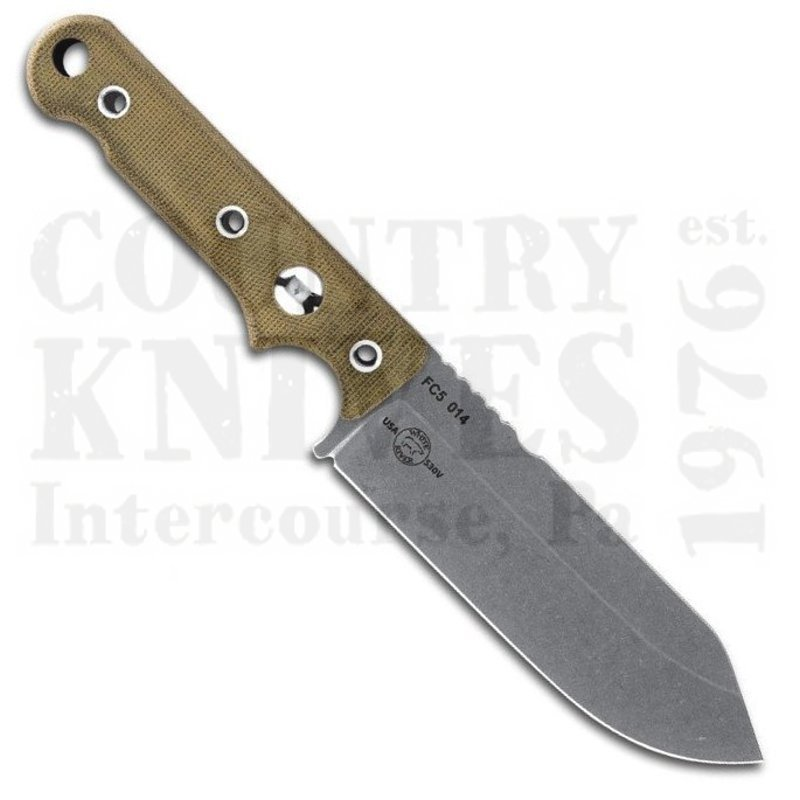 Buy White River Knife & Tool  WRFC5 Firecraft FC5 - S35VN / Micarta / Kydex at Country Knives.