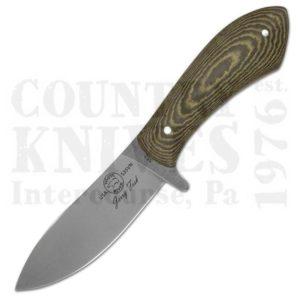 White River Knife & ToolWRJF-SBSendero Bush Knife – S30V / Green & Black G-10 / Leather