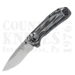 Buy Benchmade  BM15031-1 North Fork Folder - Black & Gray G-10 at Country Knives.