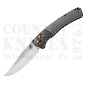 Buy Benchmade  BM15080-1 Crooked River Folder, Gray G-10 at Country Knives.