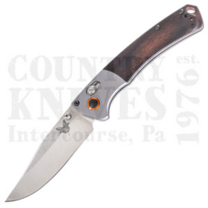 Buy Benchmade  BM15085-2 Mini Crooked River Folder - Dymondwood at Country Knives.