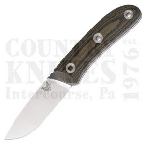 Buy Benchmade  BM15400 Pardue Hunter - OD & Black Micarta  at Country Knives.