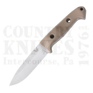 Buy Benchmade  BM162-1 Bushcrafter - S30V / Sand G-10 / Kydex at Country Knives.
