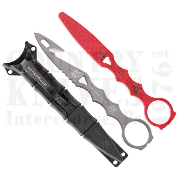 Buy Benchmade  BM179GRYCOMBO SOCP Dagger, with Trainer at Country Knives.