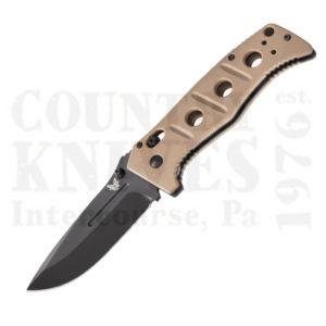Buy Benchmade  BM275BKSN Adamas - Desert Sand G-10 / Plain at Country Knives.