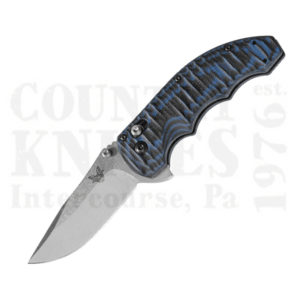 Buy Benchmade  BM300-1 Axis Flipper - Black/Blue G-10 / Plain Edge at Country Knives.