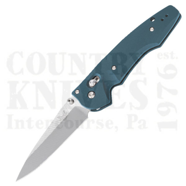 Buy Benchmade  BM477-1 Emissary 3.5 -  Aqua / Plain Edge at Country Knives.