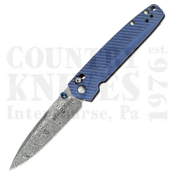 Buy Benchmade  BM485-171 Valet, Ladder Damascus at Country Knives.