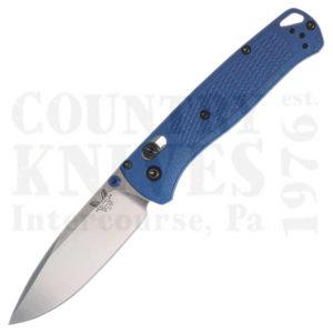 Benchmade535Bugout – Blue / Plain Edge