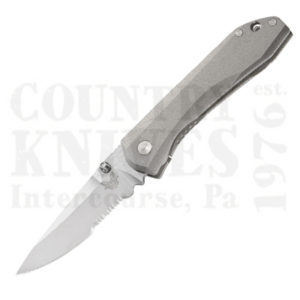 Buy Benchmade  BM765S Mini Titanium Monolock, M390 / ComboEdge at Country Knives.