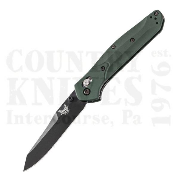 Buy Benchmade  BM940BK Osborne, Reverse Tanto / Green / BK1 at Country Knives.