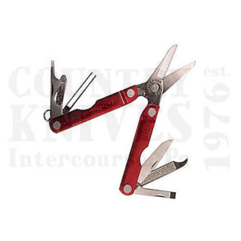 Buy Leatherman  LT64330101K Micra - Red Anodized Aluminum at Country Knives.