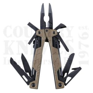 Buy Leatherman  LT831626 OHT - Coyote Tan Cerakote / Brown MOLLE at Country Knives.