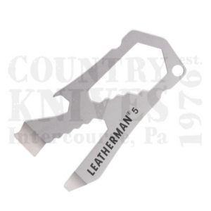Buy Leatherman  LT832120 By The Numbers, #5 Keychain Tool at Country Knives.