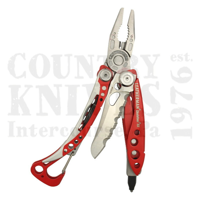 Buy Leatherman  LT832306 Skeletool RX - Red Cerakote at Country Knives.