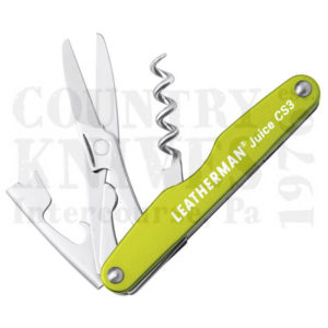 Buy Leatherman  LT832371 Juice CS3, Moss Green at Country Knives.