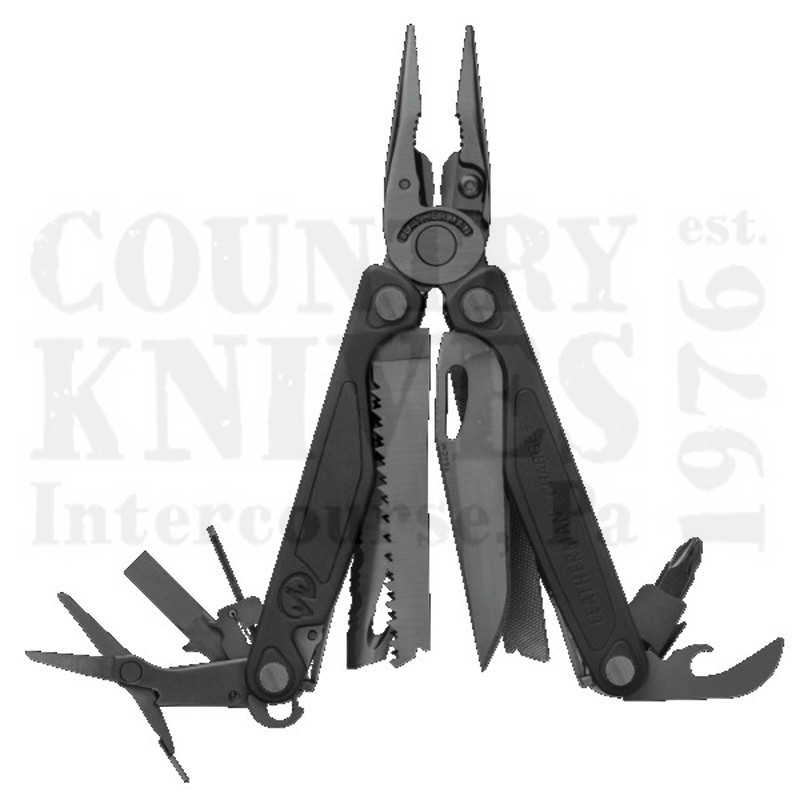 Buy Leatherman  LT832514 Charge + - 154 CM / Black Nylon / Scissors at Country Knives.