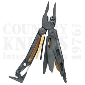 Buy Leatherman  LT850222 MUT Utility, Black Oxide with Brown MOLLE-USA at Country Knives.