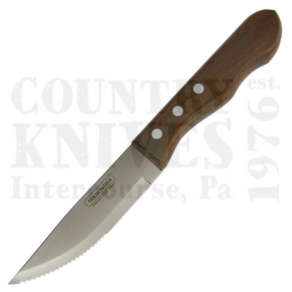 """Buy Tramontina  TTA-102 5"""" Jumbo Porterhouse Steak Knife - Hardwood Handle with Pointed Tip at Country Knives."""