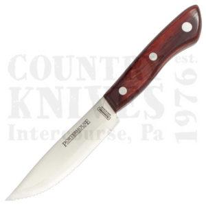 Tramontina80000-108 (80000/412)5″ Jumbo Porterhouse Steak Knife – Gaucho Polywood Handle with Pointed Tip