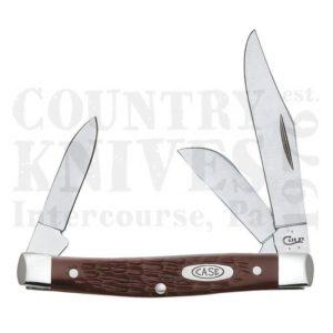 Buy Case  CA0106 Medium Stockman, Brown Delrin at Country Knives.