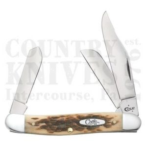 Buy Case  CA0128 Stockman, Amber Bone at Country Knives.
