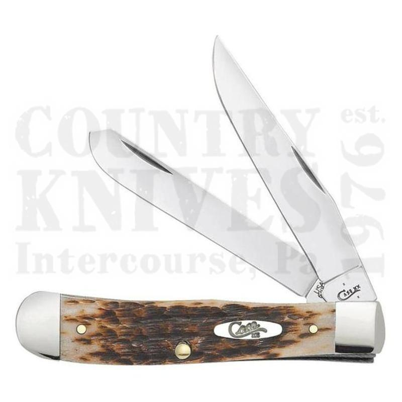 Buy Case  CA0164 Trapper - Amber Bone at Country Knives.