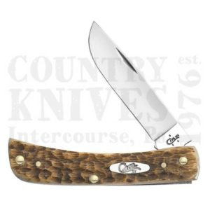 Buy Case  CA0245 Sod Buster Jr. - Amber Bone at Country Knives.