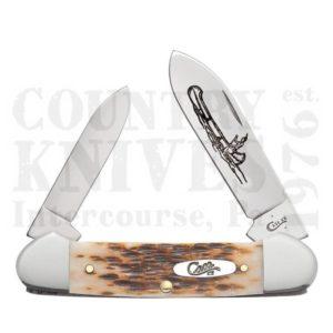 Buy Case  CA0263 Canoe - Amber Bone at Country Knives.