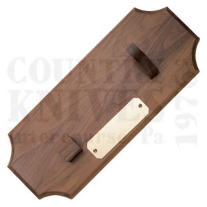 Buy Case  CA0317 Plaque - Cherry w/ Brass Plate at Country Knives.