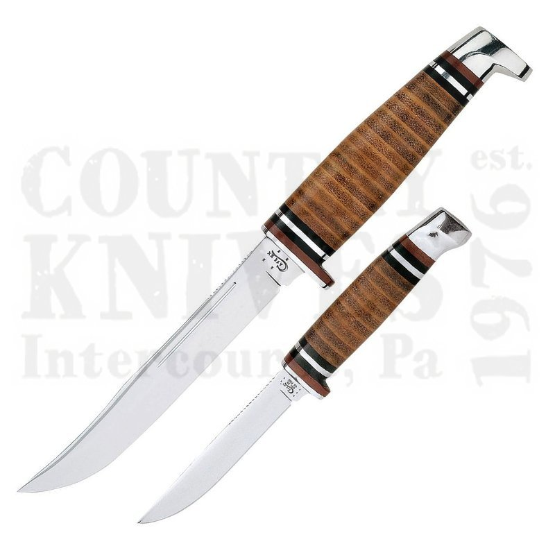 Buy Case  CA0372 3 TWIN FINN - Leather Handle at Country Knives.